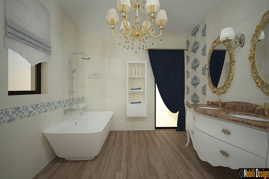 design interior baie stil clasic case baia mare | nobili-design.ro