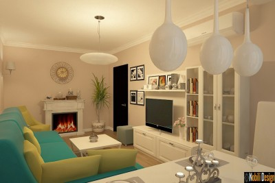 Design interior apartament clasic Buziaș Timiș