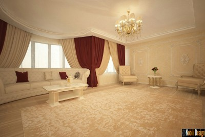 Designer interior living in Galati