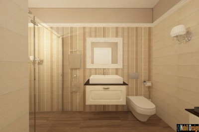Proiect design interior baie in Bistrita