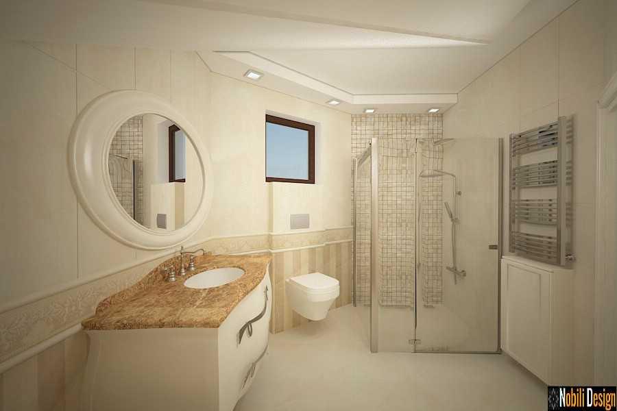 amenajari interioare baie casa clasica