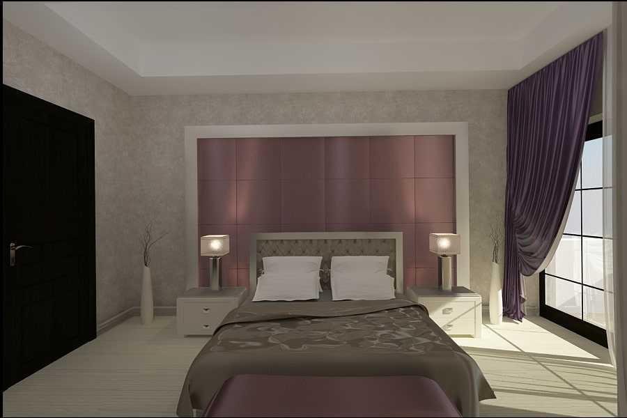 dormitor matrimonial design interior si amenajari