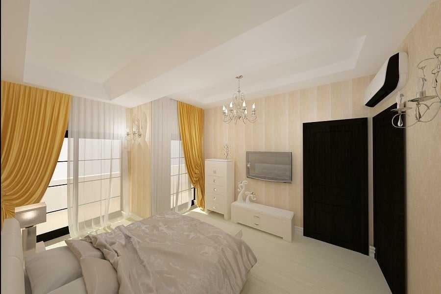 dormitor casa moderna Bucuresti