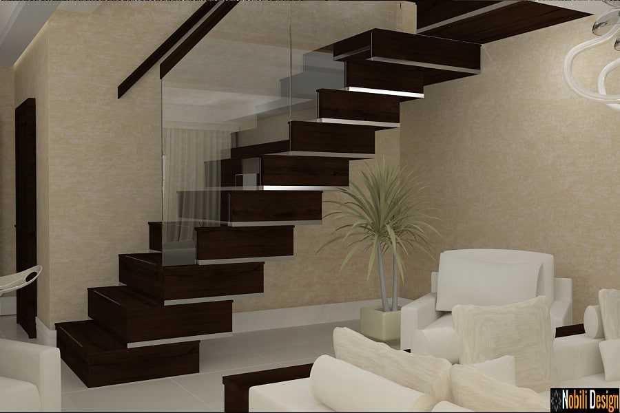 design interior hol scara interioara casa Bucuresti